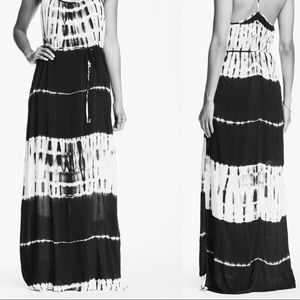 Lovestitch Tie Dye Stripe Maxi Dress